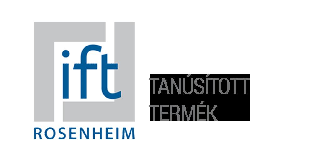 Joviste - IFT ROSENHEIM - TANÚSÍTOTT TERMÉK Logo