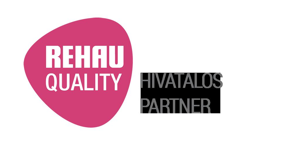 Joviste - Rehau Quality - HIVATALOS PARTNER Logo tranp