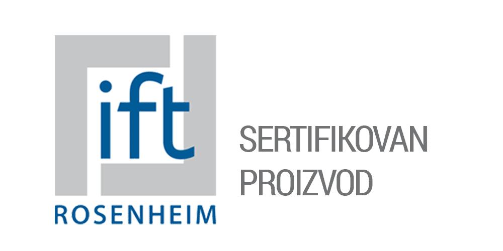 Joviste - IFT ROSENHEIM - Sertifikovan proizvod Logo