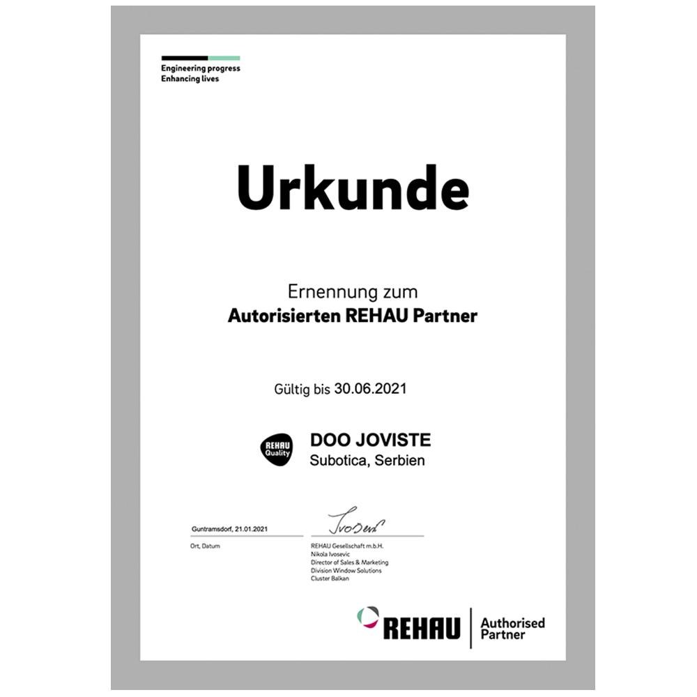 Joviste-Rehau-sertifikat-2021