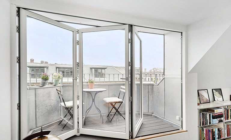Joviste Vrata za terase PVC Harmonika